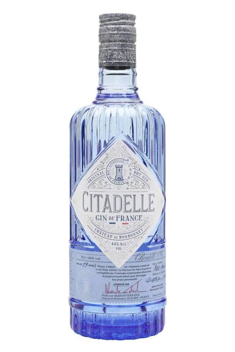 ginebra citadelle premium botella
