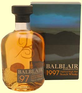 Whisky Balblair Vintage 97