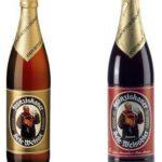 Franziskaner Naturtrüb vs Dunkel Cervezas de trigo blanca y tostada
