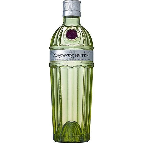 tanqueray ten ginebra botella