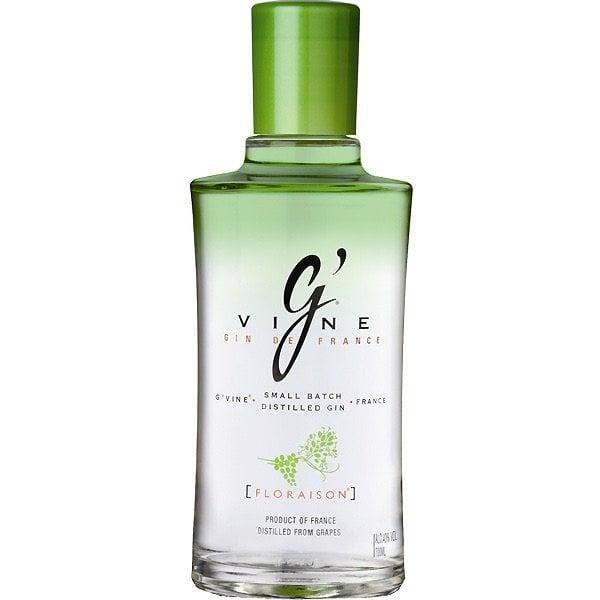 g'vine floraison ginebra botella