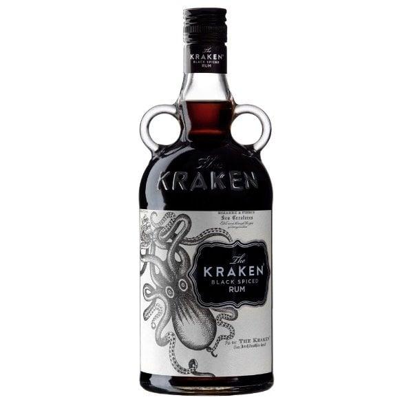 ron kraken botella black spiced rum