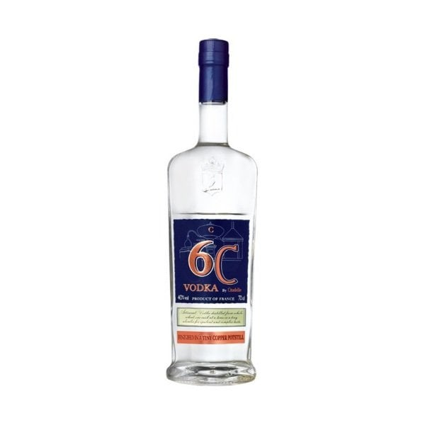 vodka citadelle 6c botella