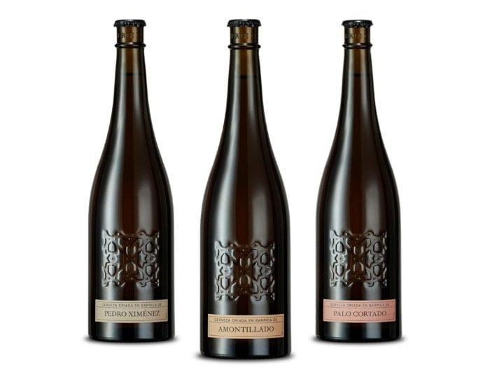 alhambra numeradas serie 3 vinos de jerez cervezas envejecidas en barrica