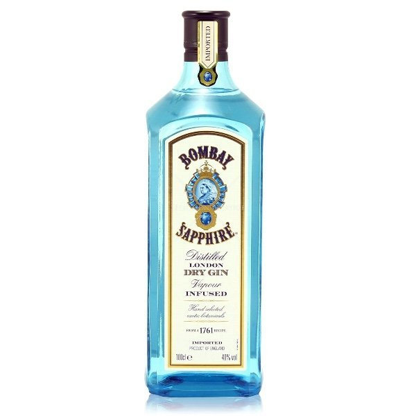 bombay sapphire london dry gin botella