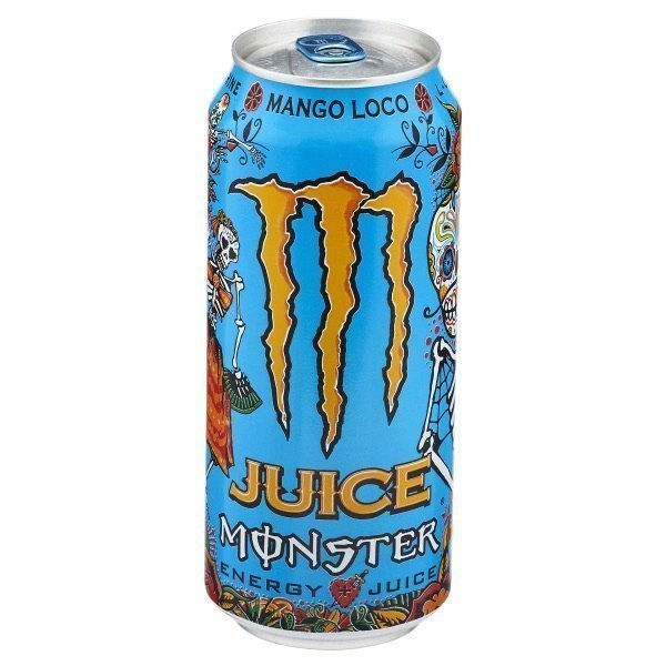 monster mango loco juice en lata