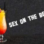 Cóctel sex on the beach, ideal para disfrutar en verano