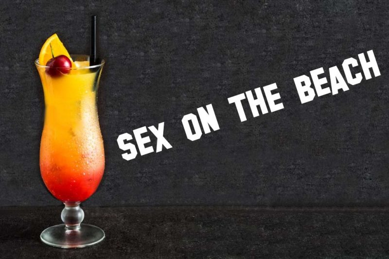 coctel sex on the beach