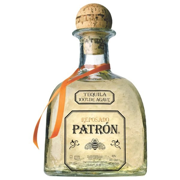 tequila patron reposado botella