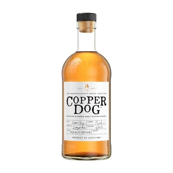 whisky copper dog botella blended malt speyside