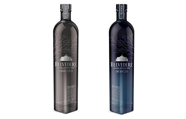 vodka belvedere single estate botellas