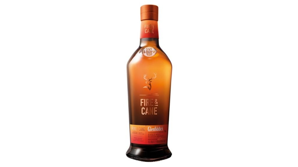 glenfiddich fire and cane whisky