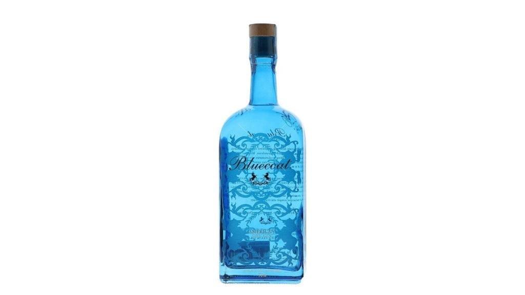ginebra bluecoat gin botella