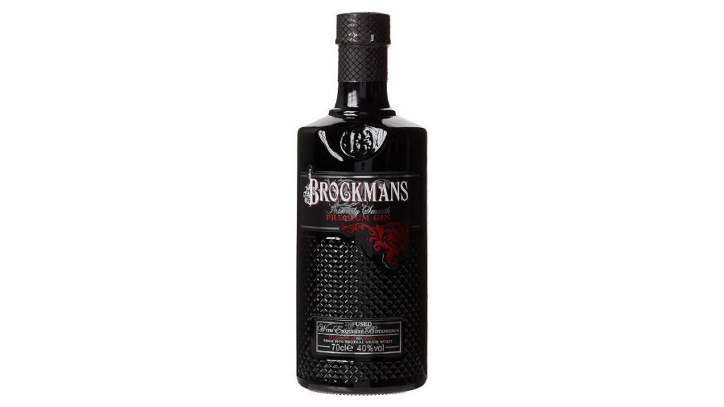 ginebra brockmans botella
