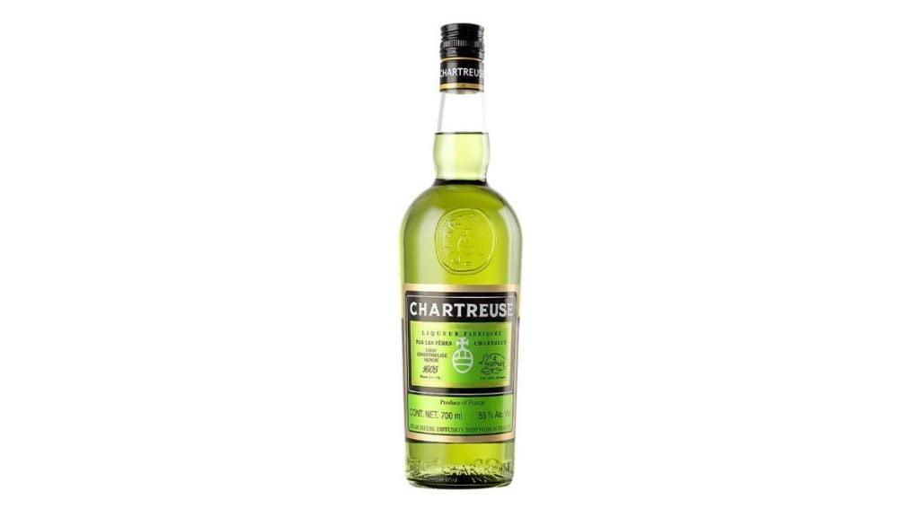 licor chartreuse verde botella