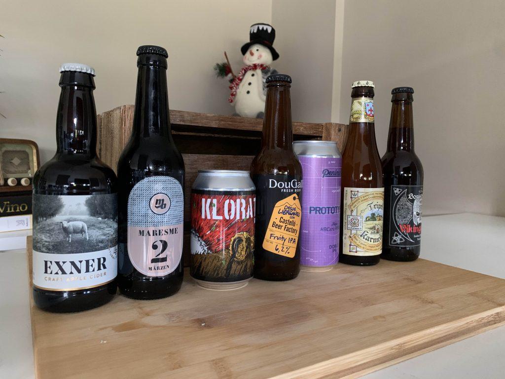 seleccion cervezas navidad 2020
