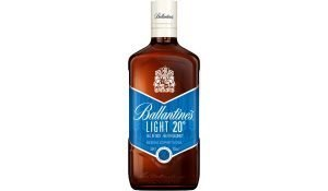 ballantines light botella bebida espirituosa base whisky