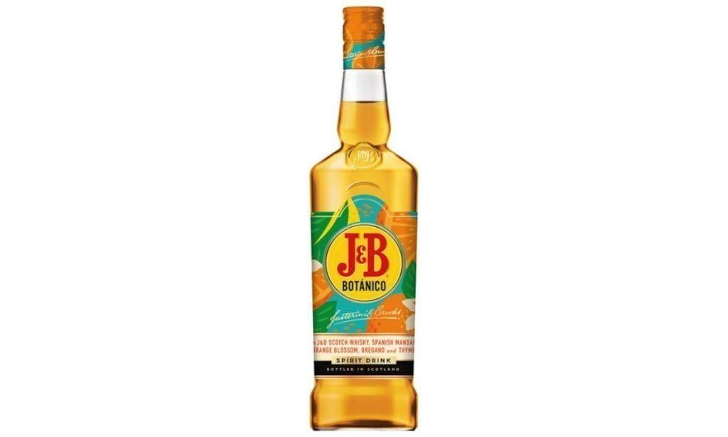jb botanico whisky blended aromatizado botella