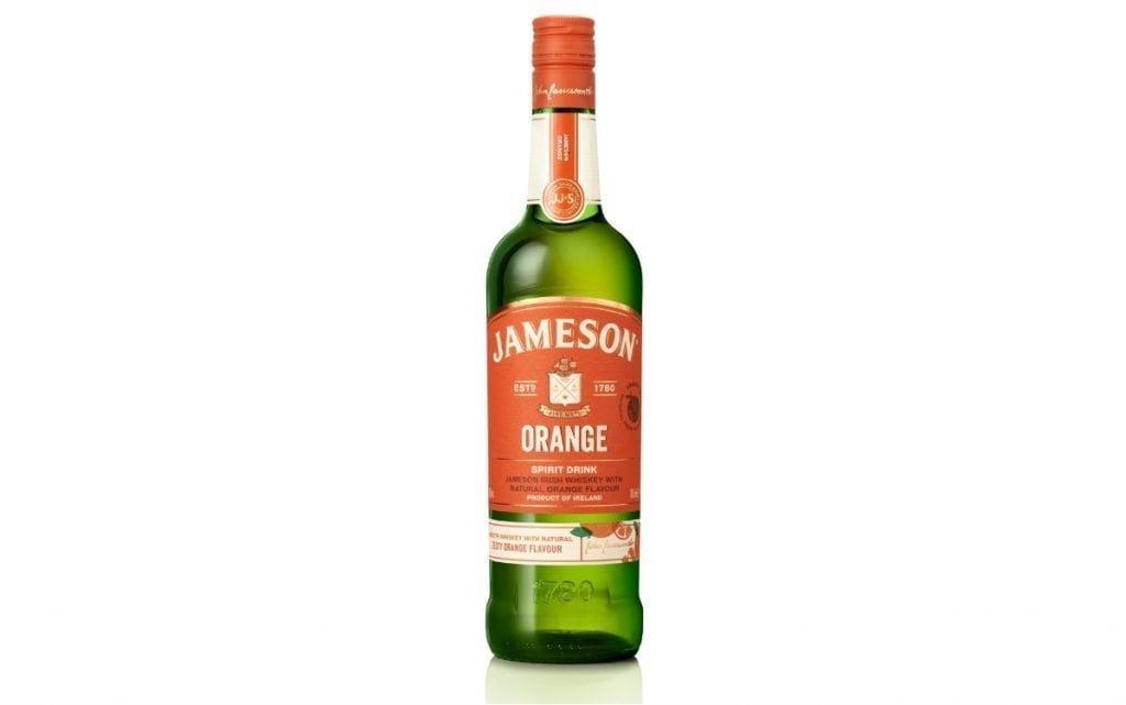 jameson orange bebida espirituosa whisky naranja botella