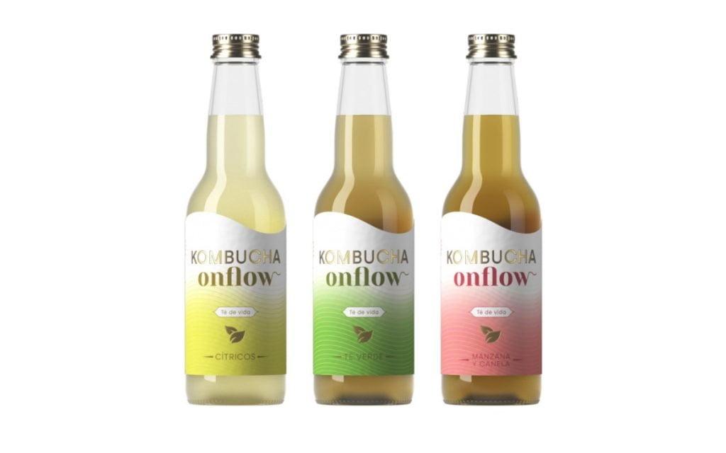 kombucha onflow gama botellas