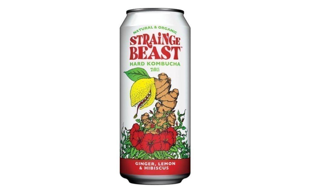 strainge beast hard kombucha con alcohol